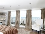 Titanic Bedroom with balcony and panoramic sea views