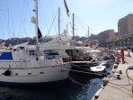 15 minutes walk to Port Hercule!