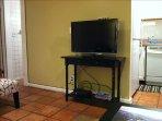 HDTV in the living room.