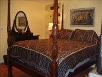 Bedroom, featuring queen sized bed.