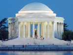 Jefferson Memorial, designed by the same architect who created the House of the Temple.