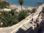 One of nerja's beaches, 15 minutes by car