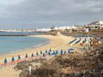 Playa Dorado beach 20 minute walk from villa
