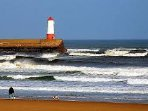 Berwick Lighthouse and Beach