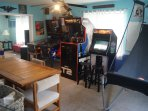 This is our free-play arcade gameroom Photographed in the spring 2016!