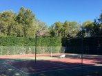 Terrains de tennis de la residence