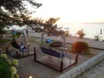 Fruit bar at the Tri mosta beach in Supetar, great place to unwind, 15min walking from the apartment