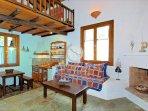CHESTNUT  KITCHEN - SITTING  ROOM