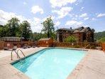 Enjoy a restful retreat at this Gatlinburg vacation rental townhome.