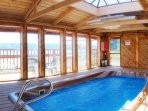 Spa hot tub with views of Hood Canal & room for 12!
