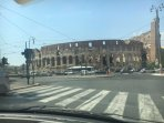 A due passi dal colosseo