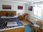 Schlafzimmer im Obergeschoss für größere Gruppen