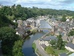 Dinan as seen from the viaduct