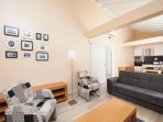 House T2- 2 bedroom + Living Room + Kitchen + Bathroom Total 6 Pax  (Living Room)