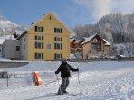 Chalet proche des pistes de ski et des remontées mécaniques