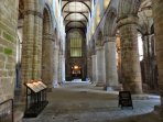Within the Abbey - historical links back to the 11th century times of King Malcolm & Queen Margaret