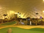 Weatherproof Florida style crazy golf at Halbeath Leisure Park