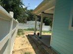 Fence yard
