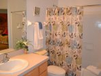 Full Bathroom for Twin Rooms