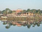 Aviana Resort Clubhouse Across Pond