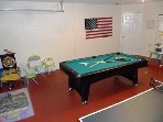 Games Room with Pool Table and Ping Pong Table