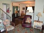Cozy corner in Living Room area.