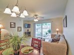 Enjoy home-cooked meals around this charming dining table.