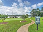 Enjoy the complex's putting green and recreational facilities.