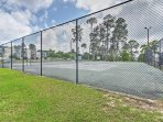 Tennis courts are open to guests!