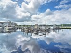 Rent a boat slip to park your boat, and enjoy the bayou!