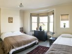 This is the largest room. The kingside bed divided into two singles