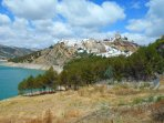 The historic, charming, Iznajar ('One of the finest villages in Spain' )