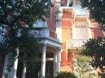 Façade de la Villa Saint Louis