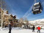 Luxury 3 Br condo at Snowmass. Ski in ski out