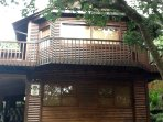 The Tree House (apartment is on ground floor)