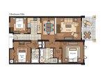 Villa 103 floor plan