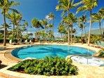 Ocean Villas pool and jacuzzi