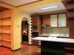 Kitchen in the villa