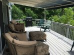 Fully Furnished Deck with Sunsetter Awning