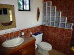 Private bathroom, Casa Bambora studio