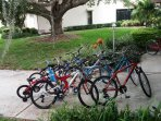 Free Bicycle Use - several from which to choose-3 miles of road in the gated community alone