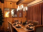Dining Room Table - we provide you with the amenities for a Festive Dinner