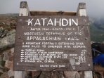 Mt Katahdin Baxter State Park - hiking the Appalachians