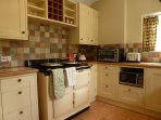 Lovely warm AGA for cosy winter  months
