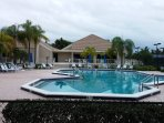 Heated saltwater pool at clubhouse included