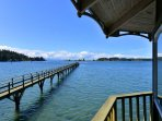 Fifty foot dock with deep water moorage