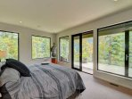 Large, bright and comfortable master bedroom