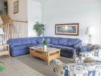 Windsor Hills Orlando Lakefront Villa Living Room