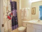 Windsor Hills Orlando Lakefront Villa Twin Bathroom 4