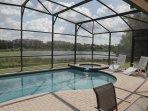 Windsor Hills Orlando Lakefront Villa Pool & Spa